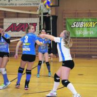 Helsinki Volley yhä liian kova Ryhdille