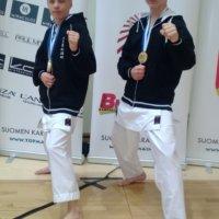 Ylöjärveläiset juhlivat karaten SM-kisoissa