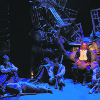 Les Misérables on vangitseva yhteistaideteos