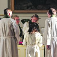 Lähetystyöntekijä sai siunauksen pestilleen