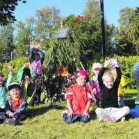 Maataide kaiuttaa lasten ääntä