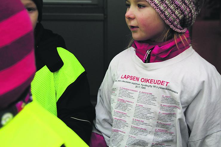 lapsen oikeuksien sopimus Ahtari