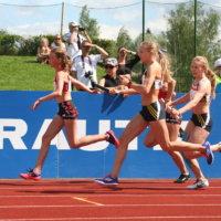 Ylöjärven Urheilijoiden tytöt onnistuivat SM-aitaviesteissä