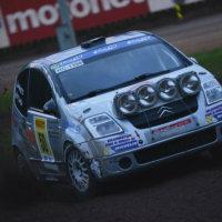 Joonas Tokeen kovin kilpailija Jari Huttunen aloitti vahvasti. Myöhemmin hän voitti koko SM3-ryhmän kilpailun. (Kuva: Taneli Niinimäki)