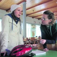 Noor opettelee jo suomea