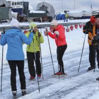Vuorentaustalaisyritys saa talvikaudelle avustusta Näsijärven retkiluisteluradan ylläpitoon
