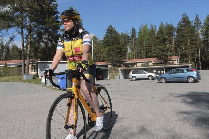 pyöräily, Team Rynkeby, hyväntekeväisyys, Eija Rantanen