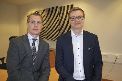 Jarkko Sorvanto ja Timo Isolähteenmäki