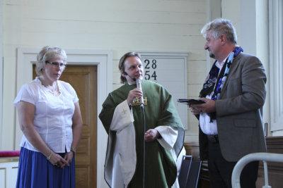 Kirkon yhteistyömitalit