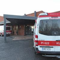 Ambulanssi Kurussa enää 12 tuntia vuorokaudessa
