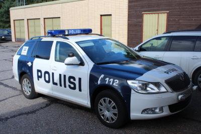 poliisi, poliisiauto