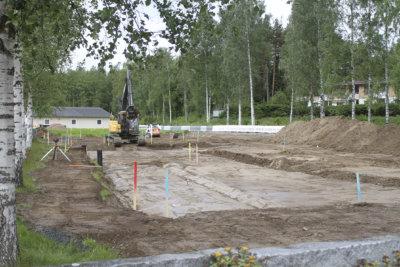 Ylöjärven hautausmaa, Ylöjärven seurakunta, hautausmaan laajennus, uurnahautaus