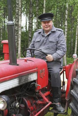 Haverin Konepäivät, traktori, Viljakkala, Jouni Asp, Valmet