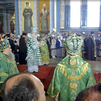 Kirill ja Putin julistivat Valamon Venäjän hengelliseksi keskukseksi