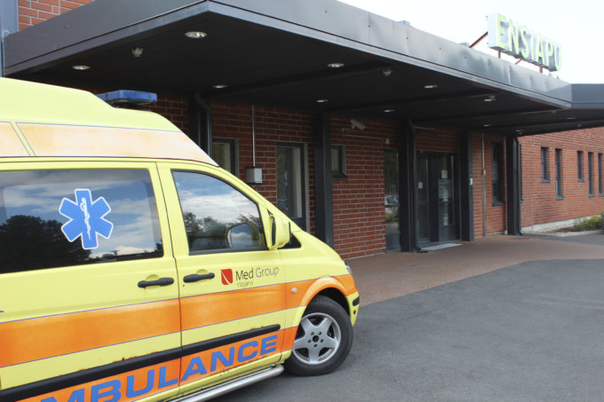 ambulanssi, terveyskeskus, ensiapu