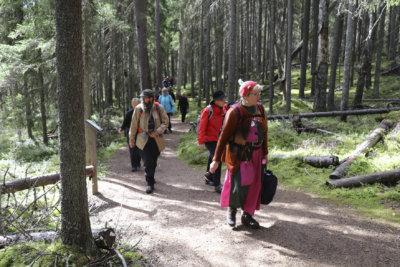 Seitsemisen kansallispuisto, retkeily, Pohjois-Kuru, Riiuuretki, Multiharju