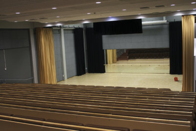 Moision koulu, koulu, auditorio, kulttuurisali