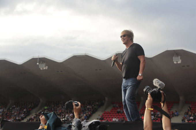Eppu Normaali, Martti Syrjä, Ratinan stadion, Eput ratinassa, juhlakonsertti, suomirock, rockmusiikki