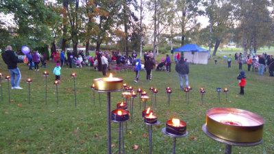 Räikän tulet, Räikänpuisto, Ylöjärvi-Seura, tapahtumat