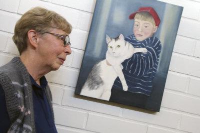 Maija Vesanen-Paffen, kuvataide, maalaus, öljyvrit, Ylöjärven terveyskeskus
