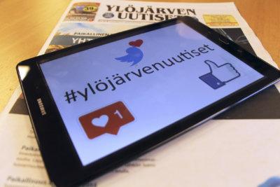 #ylöjärvenuutiset, hashtag, aihetunniste, sosiaalinen media, Facebook, Twitter, Instagram