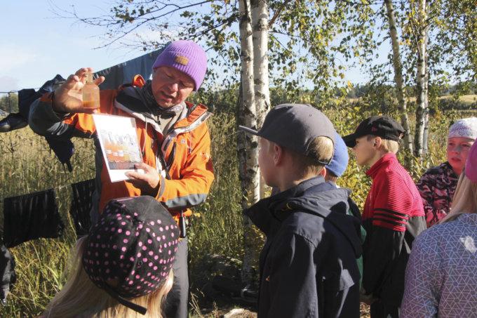Vesiviesti, Kokemäenjoen vesistön vesiensuojeluyhdistys, Mutalan koulu, melonta, luonnonsuojelu, Tomi Mandelin