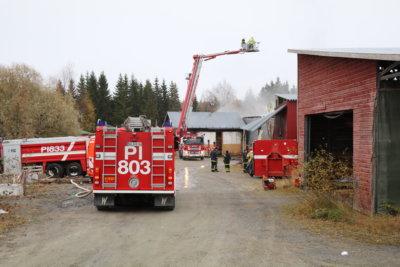 tulipalo, pelastuslaitos, palokunta, Pirttijoen saha