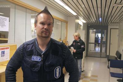 Ylöjärven poliisiasema, poliisi, komisario, Lauri Valkama