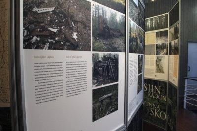 näyttely, Metsiin kadonneet -näyttely, Seitsemisen luontokeskus, Seitsemisen kansallispuisto, luonto, kulttuuriperintö