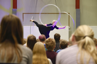 sirkus, teatteri, Lumo Company, Mutalan koulu