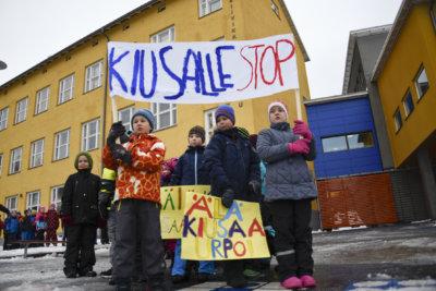 Kiusalle stoppi -kampanja, koulukiusaaminen, peruskoulu, alakoulu, Siivikkalan koulu