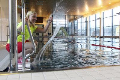 Ylöjärven uimahalli, uinti, lapset, tapahtuma