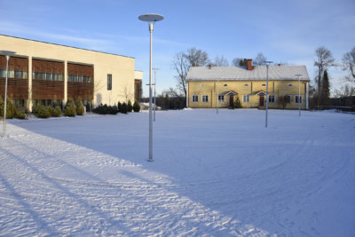 Ylöjärven keskusta, Räikän kartano, Ylöjärven kaupungintalo