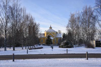Ylöjärven keskusta, kirkkopuisto, Ylöjärven kirkko
