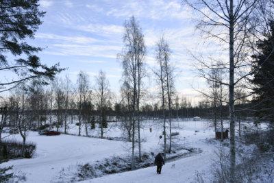 Aron ranta, Ylöjärven keskusta
