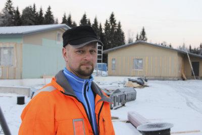 Kurun yrittäjät, yrittäjyys, Heikki Männistö, Rakennustyö H. Männistö