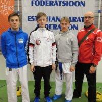Karatekat vahvoja Tallinnassa