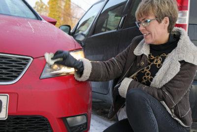 talvi, autoilu, auto, talviolosuhteet, liikenneopettaja