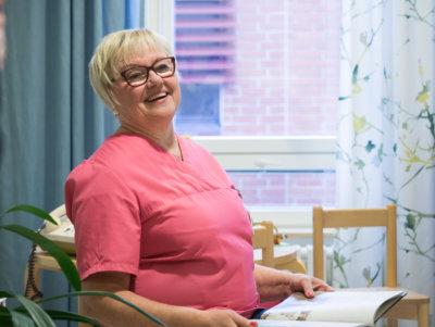Mervi Räntilä, eläkkeelle, Ylöjärven terveyskeskus, hammashuolto