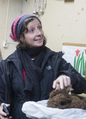 Elizabeth Lorenzi, Kehräämö Salo-Angora, Medialab-Prado, tekstiilit, tekstiiliteollisuus