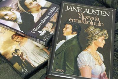 Jane Austen -ilta, Jane Austen, kirjallisuus, pääkirjasto Leija