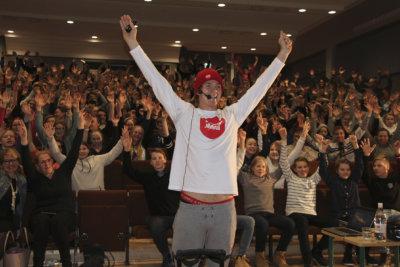 Pekka Hyysalo, kiusaaminen, positiivisuus, Moision koulu