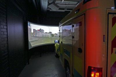 ambulanssisimulaattori, ambulanssi, simulaattori, ensihoito, Creanex oy