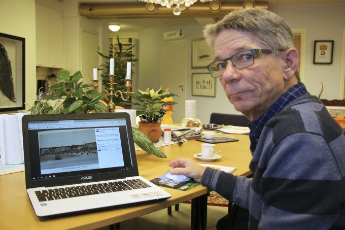 Ylöjärvi vanhoissa kuvissa Antero Mäkkylä