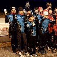 Ryhdin hiihtäjät loistivat viesteissä