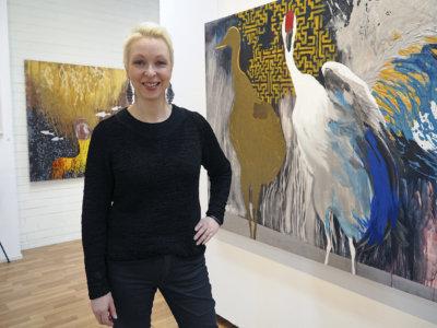 Katja Härkki, kuvataide, maalaus, Keskusgalleria