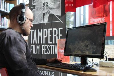 AVA-elokuvakirjasto, Tampereen elokuvajuhlat, pääkirjasto Leija, kirjasto, elokuvat