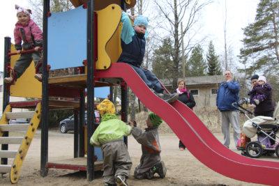 Leikkipuistotreffit, Ylöjärven MLL, MLL, lapsiperheet, lapset