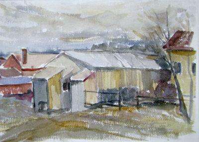 Samuli Siponmaa, Kurun kirjasto, kuvataide, maalaus