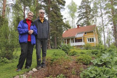 kesämökki, Säynäväjärvi, Kyöstilä, Sinikka Lamminen, Pekka Tommila